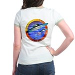 Official UFO Hunter Color Jr. Ringer T-Shirt