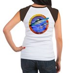 Official UFO Hunter Color Women's Cap Sleeve T-Shi