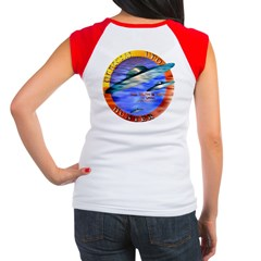 Official UFO Hunter Color Women's Cap Sleeve T-Shi