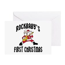RockBaby's First Christmas Greeting Card
