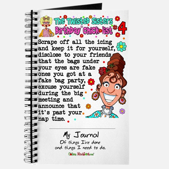 Twisted Sister Chicklist #4 Journal