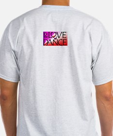 For the LOVE of DANCE Ash Grey T-Shirt