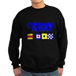 'Race 2 Win' in this Sweatshirt (dark)