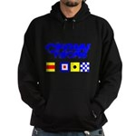 'Race 2 Win' in this Hoodie (dark)