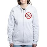 The No Brain Women's Zip Hoodie