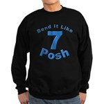 Be Posh with this Sweatshirt (dark)