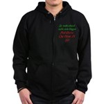 The italian Zip Hoodie (dark)