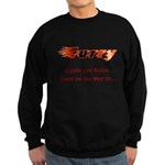 Burn it up with this Sweatshirt (dark)