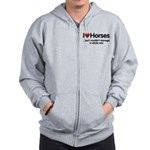 The Horse Meet Zip Hoodie