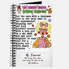 Twisted Sister Chicklist #6 Journal