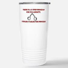 12 Step SVU Program Stainless Steel Travel Mug