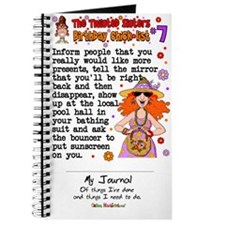 Twisted Sister Chicklist #7 Journal