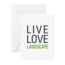 Live Love Landscape Greeting Cards (Pk of 20)