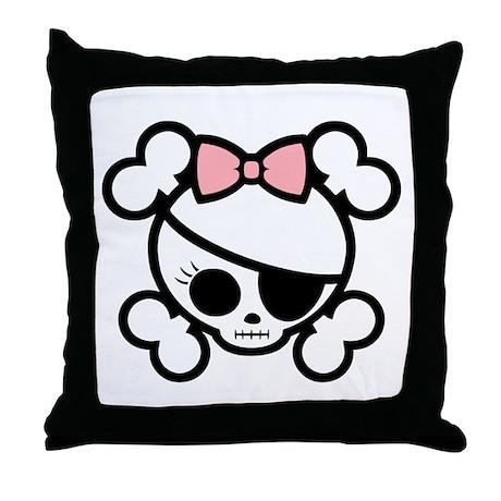 Molly Bow VII Throw Pillow