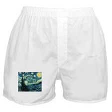 Starry Night Boxer Shorts