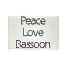 Bassoonist Gift Rectangle Magnet