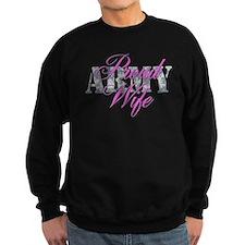 Proud Army Wife ACU Sweatshirt