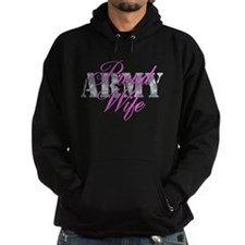 Proud Army Wife ACU Hoody
