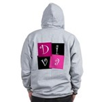 DIVA Design! Zip Hoodie