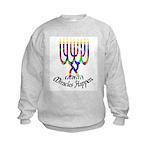 Miracles Happen Kids Sweatshirt