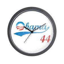 PRESIDENT OBAMA 44 Wall Clock