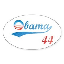 PRESIDENT OBAMA 44 Oval Decal