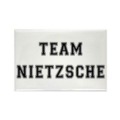 Team Nietzsche Rectangle Magnet (10 pack)
