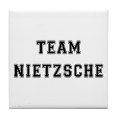 Team Nietzsche Tile Coaster
