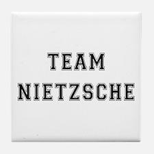 Team Nietzsche Tile Coaster