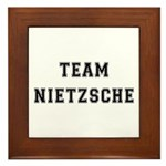 Team Nietzsche Framed Tile