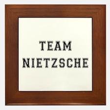 Team Nietzsche Framed Tile