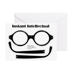 Instant Intellectual Greeting Cards (Pk of 10)