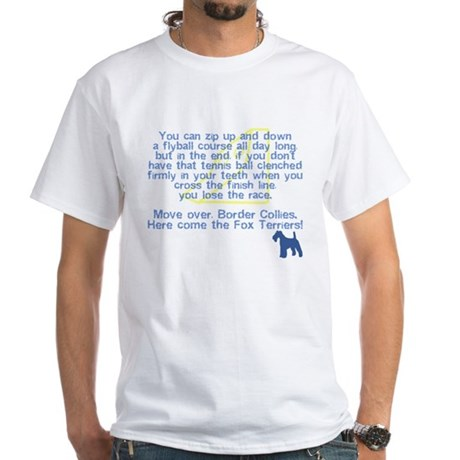 Move Over Wire Fox Terrier Flyball T-Shirt