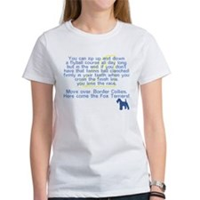 Move Over Wire Fox Flyball Tee