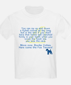 Move Over Wire Fox Flyball T-Shirt