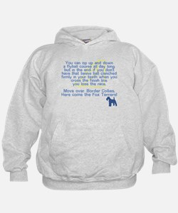 Move Over Wire Fox Flyball Hoodie