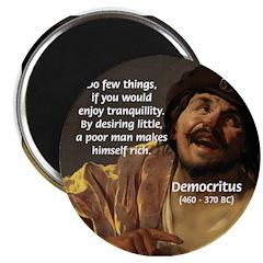 Greek Philosophy: Democritus Magnet