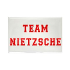 Team Nietzsche Rectangle Magnet