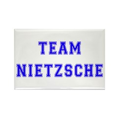 Team Nietzsche Rectangle Magnet (100 pack)