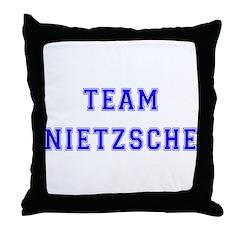 Team Nietzsche Throw Pillow
