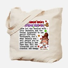 Twisted Sister Chicklist #8 Tote Bag