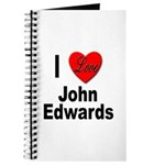 I Love John Edwards Journal
