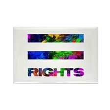 EQUAL RIGHTS - Rectangle Magnet
