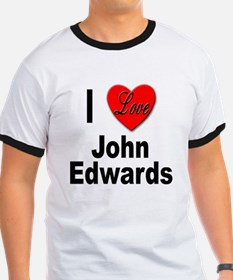 I Love John Edwards (Front) T
