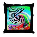 Miracles Happen (Color Wave) Throw Pillow