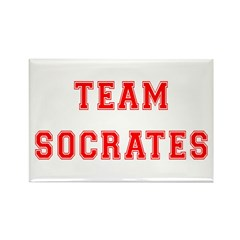 Team Socrates Rectangle Magnet (10 pack)