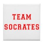 Team Socrates Tile Coaster