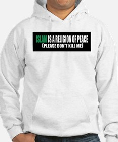 Islam Religion of Peace Hoodie