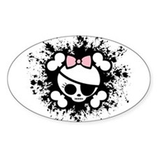 Molly Splat Oval Decal