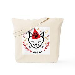 HAPPY MEW YEAR Tote Bag